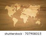 wood texture background surface ... | Shutterstock . vector #707908315