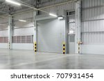 shutter door or roller door and ... | Shutterstock . vector #707931454