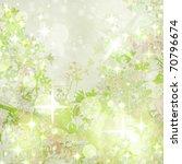 Sparkly Garden Art Textured ...
