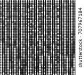 grunge halftone dots texture... | Shutterstock .eps vector #707967184