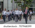 tokyo  japan   september 1st ... | Shutterstock . vector #707968399
