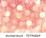 Retro Pink Bokeh Background