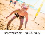 time for a beach party | Shutterstock . vector #708007009
