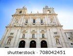 Main Facade Of Monastery Of Sa...