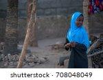 zanzibar  tanzania  february... | Shutterstock . vector #708048049
