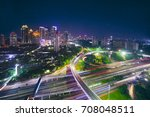 aerial view of new semanggi... | Shutterstock . vector #708048511