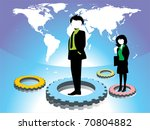 corporate background with... | Shutterstock .eps vector #70804882