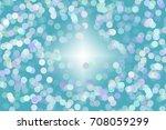 bokeh abstract blue background | Shutterstock . vector #708059299