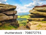 View From Hathersage Moor In...