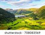 landscape of lake district... | Shutterstock . vector #708083569