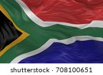 national flag of the south...   Shutterstock . vector #708100651