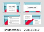 abstract vector layout... | Shutterstock .eps vector #708118519