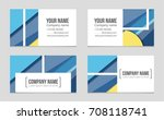 abstract vector layout... | Shutterstock .eps vector #708118741
