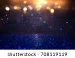 glitter vintage lights... | Shutterstock . vector #708119119