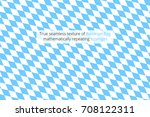 true seamless texture of blue... | Shutterstock .eps vector #708122311