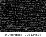 math vector seamless pattern...   Shutterstock .eps vector #708124639
