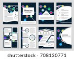 abstract vector layout...   Shutterstock .eps vector #708130771