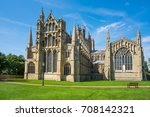 View Of A Cathedral In Ely ...