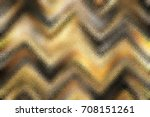 colorful glass zigzag pattern... | Shutterstock . vector #708151261