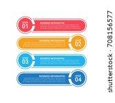 modern infographic options...   Shutterstock .eps vector #708156577