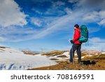 Hiking Man In The Incredible...