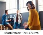 portrait of a young...   Shutterstock . vector #708179695