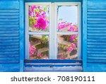 Beautiful Vintage Greek Window...