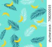 beautifil summer seamless...   Shutterstock . vector #708200035