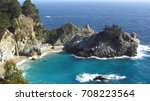 an amazing little bay on... | Shutterstock . vector #708223564