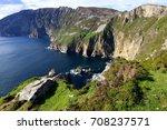 slieve league  ireland | Shutterstock . vector #708237571