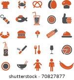 food signs. vector | Shutterstock .eps vector #70827877