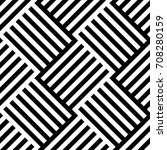 monochrome seamless pattern of... | Shutterstock .eps vector #708280159