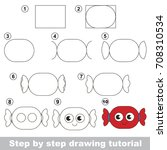 kid game to develop drawing...   Shutterstock .eps vector #708310534