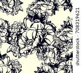 abstract elegance seamless... | Shutterstock .eps vector #708319621