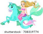 illustration of beautiful... | Shutterstock .eps vector #708319774