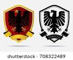It · Grunge Soccer Laurel Wreath Crest · Set Of Soccer Or Football Badge  Logo Design Template. Sport Team Identity.