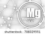 magnesium chemical element.... | Shutterstock . vector #708329551