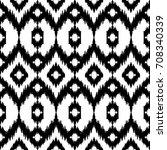 ethnic seamless pattern. boho... | Shutterstock .eps vector #708340339