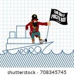 international talk like a...   Shutterstock .eps vector #708345745