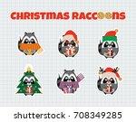 set of vector elements for... | Shutterstock .eps vector #708349285
