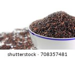 close up seed rice berry rice... | Shutterstock . vector #708357481