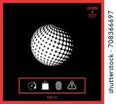 earth symbol   logo design   Shutterstock .eps vector #708366697