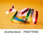 holiday ribbons   Shutterstock . vector #708375481
