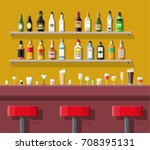 drinking establishment.... | Shutterstock . vector #708395131