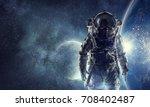 adventure of spaceman. mixed...   Shutterstock . vector #708402487