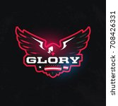 modern professional sport logo... | Shutterstock .eps vector #708426331