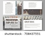 set of business templates for...   Shutterstock .eps vector #708437551