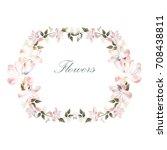flowers background | Shutterstock .eps vector #708438811