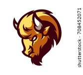 Bison   Vector Logo   Icon...