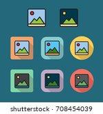 image photo flat icon